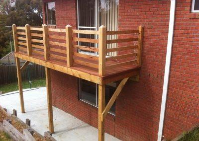 image of a timber veranda